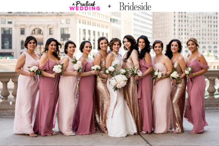 7560b97a4e8 Mismatched Bridesmaid Dresses The Easy Way