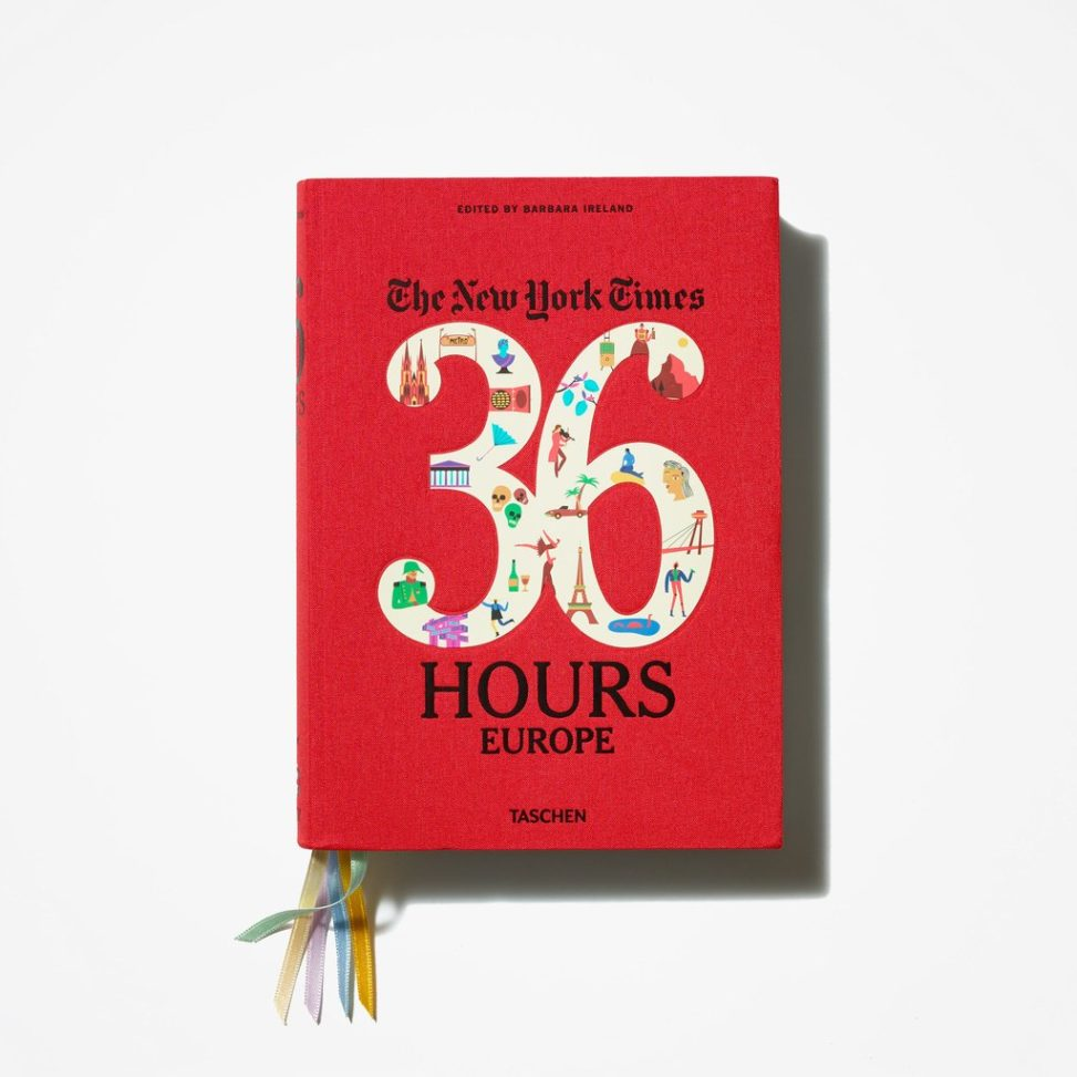 NY Times' 36 Hours in Europe book on white