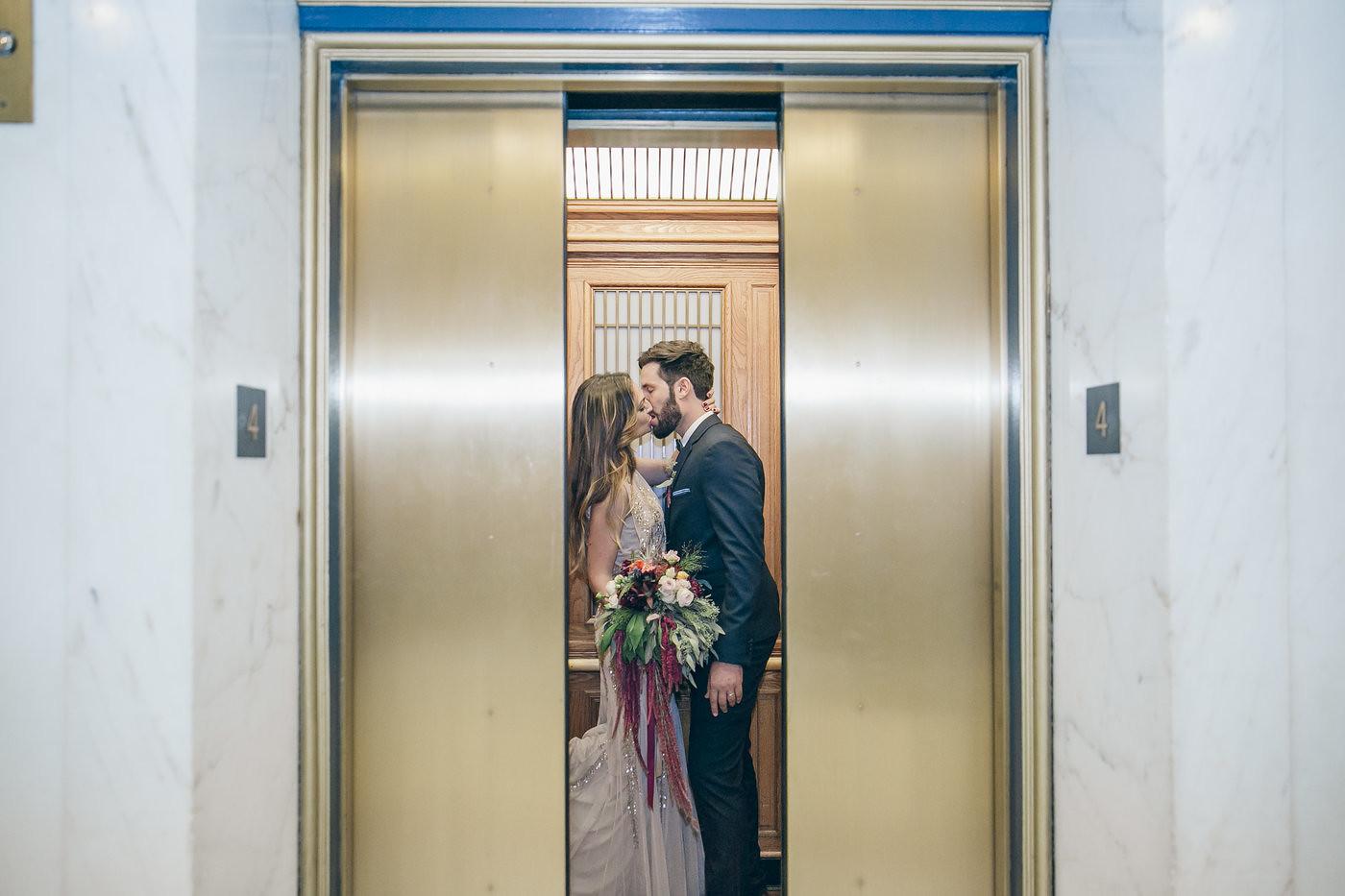 San Francisco Courthouse Wedding
