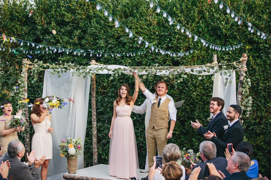 Backyard Weddings You Can Steal Ideas From  A Practical Wedding