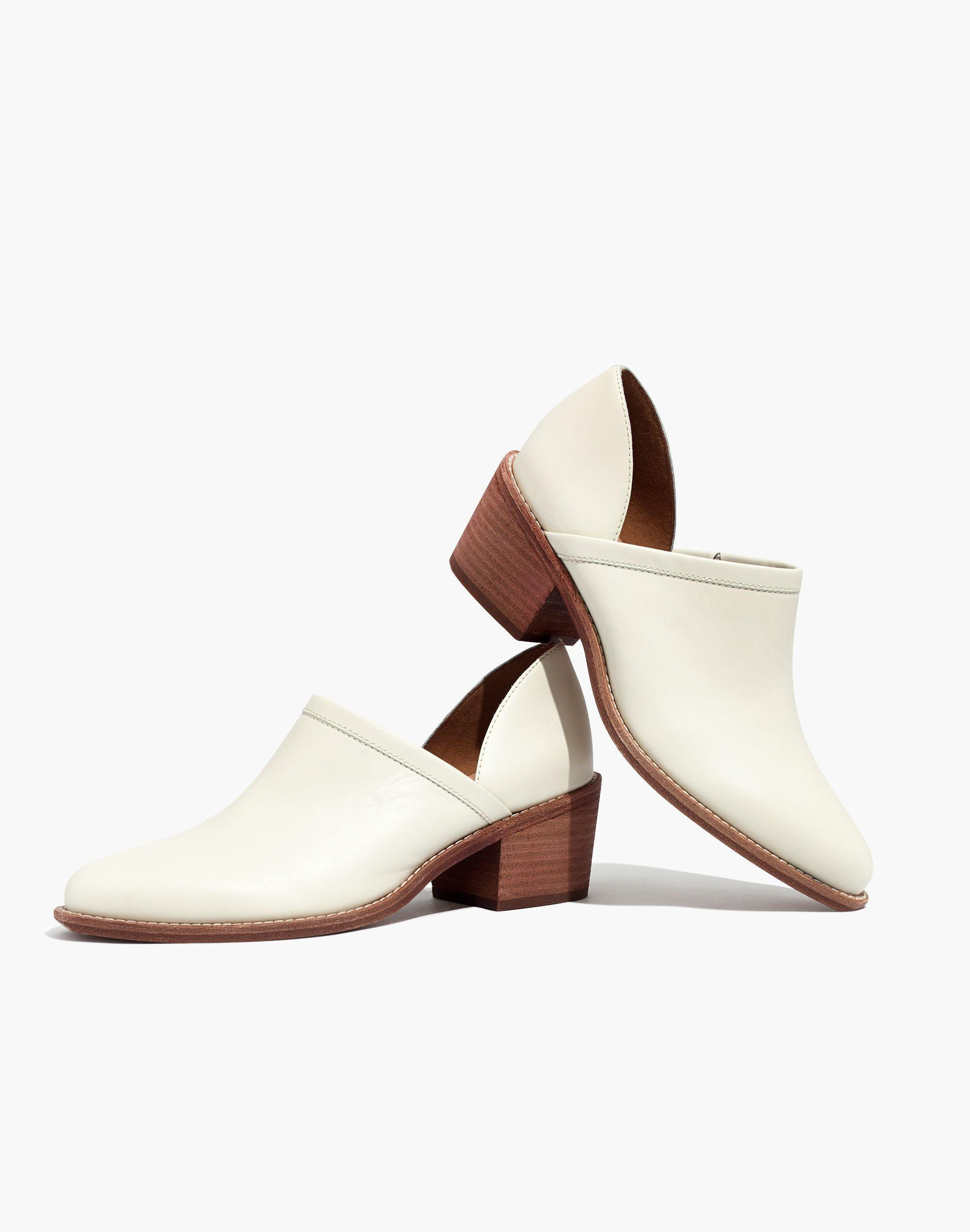 Slide on shoes that double as booties.