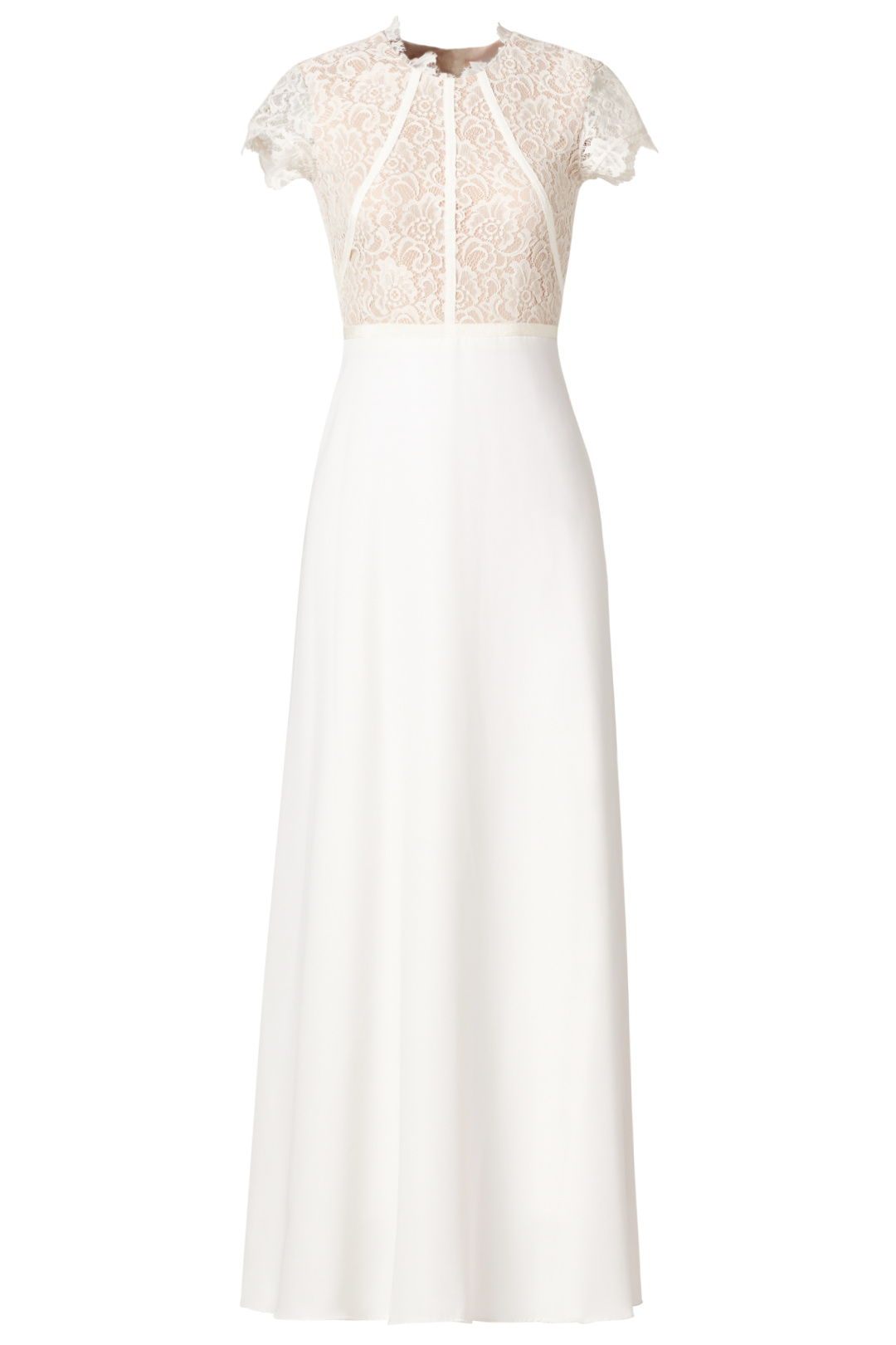 off the rack white lace wedding dress