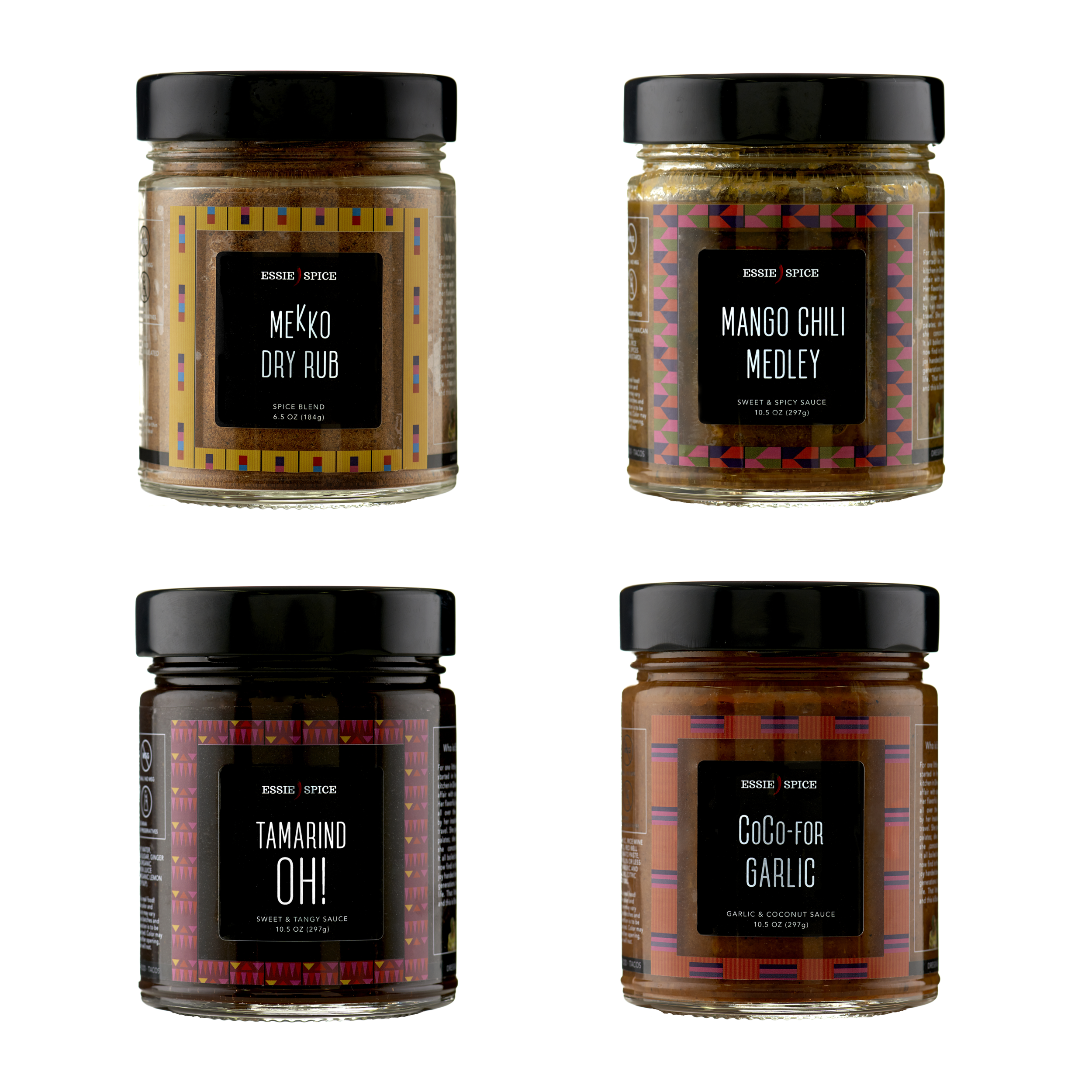 set of 4 spices