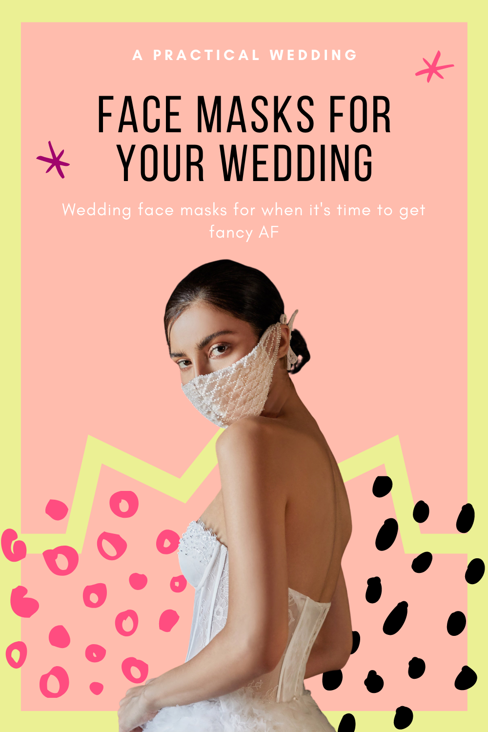 The best wedding face masks for 2020