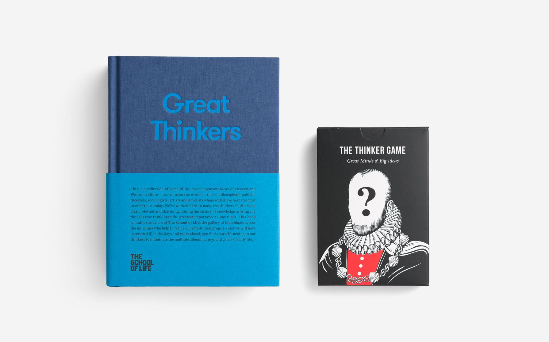 great thinkers card and book set