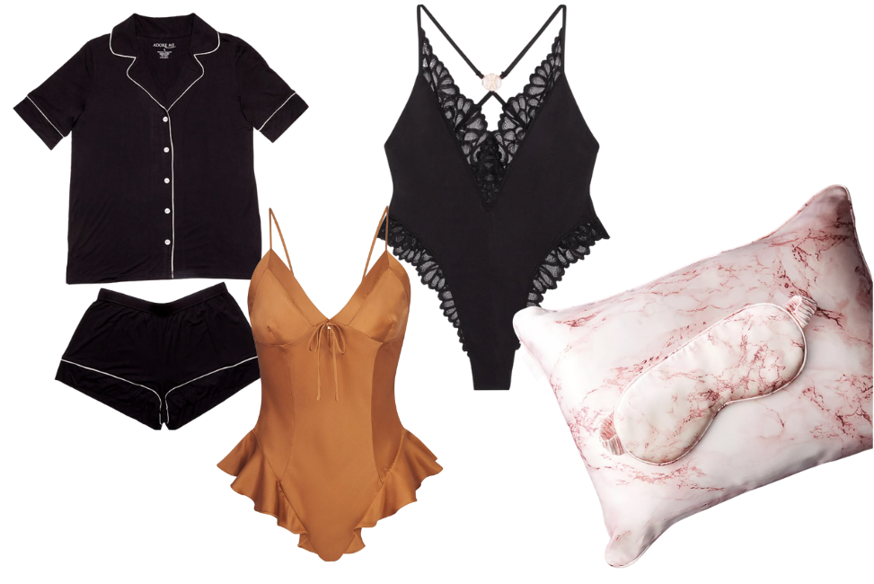 Lingerie and Pajamas for your honeymoon packing list